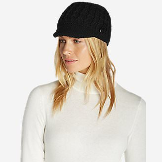 Women's Cloud Cap Beanie in Black
