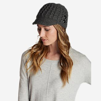 Women's Covey Beanie in Gray