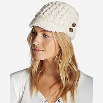 Women's Cloud Cap Beanie in White