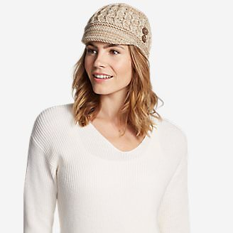 Women's Covey Beanie in Beige