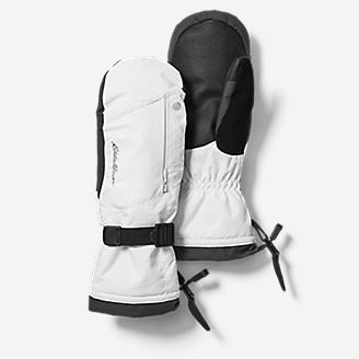 Powder Search Touchscreen Mittens in White