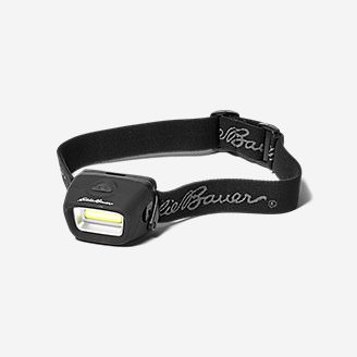 COB LED Headlamp 100 Lumens in Black