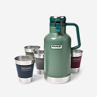 Stanley Steel Growler Set in Green