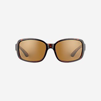 Kaylee Polarized Sunglasses in Brown