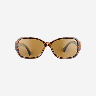 Layna Polarized Sunglasses in Brown