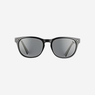 Langley Polarized Sunglasses in Black