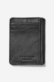 SafeID Leather Cash & Card Sleeve in Black