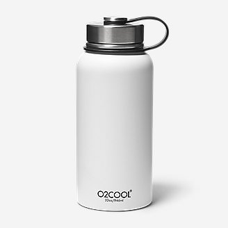O2Cool 32-oz Sequoia Bottle in White