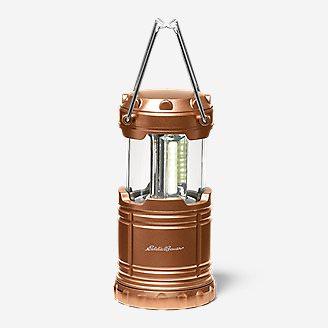 Eddie Bauer 200 Lumen Pop-Up COB Lantern in Orange
