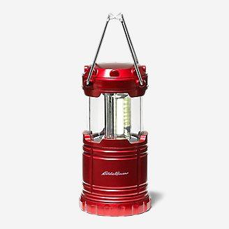 200 Lumen COB Mini Pop-Up Lantern in Red