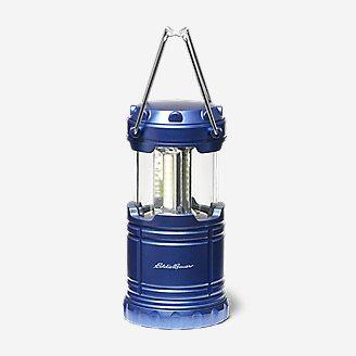Eddie Bauer 200 Lumen Pop-Up COB Lantern in Blue