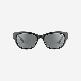 Whidbey Polarized Sunglasses in Black