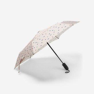 Auto Open/Close Umbrella in White
