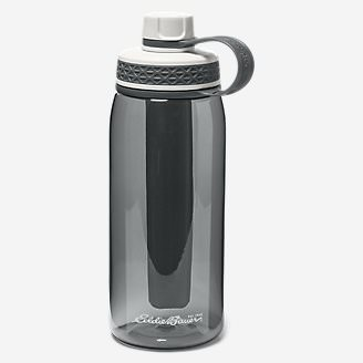 Freezer Water Bottle - 32 oz. in Gray