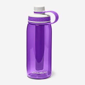 Freezer Water Bottle - 32 oz. in Purple