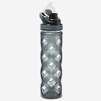 Blocktagon Bottle - 22 oz. in Gray