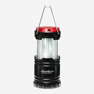 Fireside Pop-Up Lantern - 50 Lumens in Red