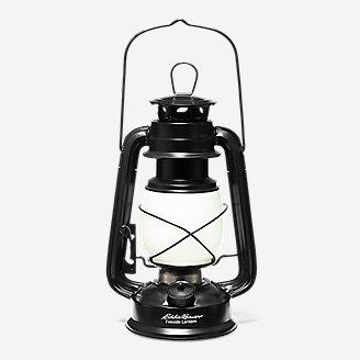 Fireside Hurricane Lantern - 50 Lumens in Black