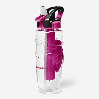 32-Oz. Freezer Water Bottle in Pink