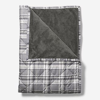 Oversized Down Throw in Gray