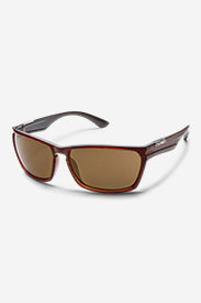 Suncloud® Cutout Sunglasses - Brown in Brown