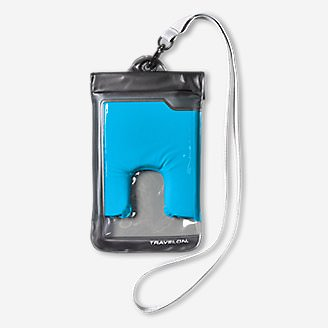 Travelon Large Waterproof Phone Pouch in Blue
