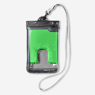 Travelon Large Waterproof Phone Pouch in Green