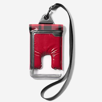Travelon® Large Waterproof Phone Pouch in Red