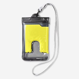 Travelon Large Waterproof Phone Pouch in Yellow