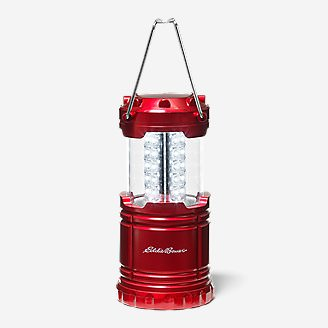 30-LED Pop-Up Lantern in Red