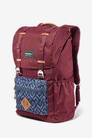 Bygone 25L Topload Pack in Blue
