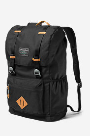 Bygone 25L Topload Pack in Black