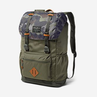 Bygone 25L Topload Pack in Green