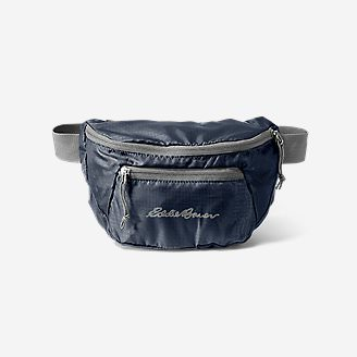 Stowaway Packable Waistpack in Blue