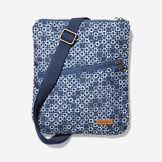 Connect 3-Zip Travel Bag in Blue