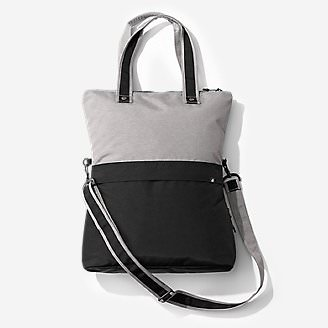 Zen Crossover Tote in Gray
