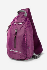 Stowaway Sling Bag in Purple