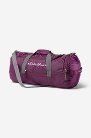 Stowaway 45L Duffel in Purple