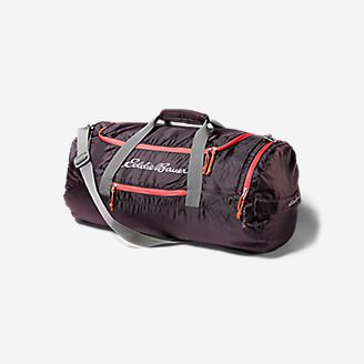 Stowaway Packable 45L Duffel in Purple