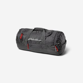 Stowaway Packable 45L Duffel in Gray