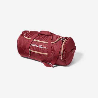 Stowaway Packable 45L Duffel in Red