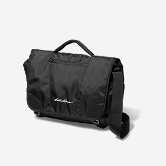 Voyager 2.0 Courier Bag in Black