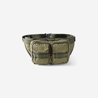 Cargo Sling Bag in Green