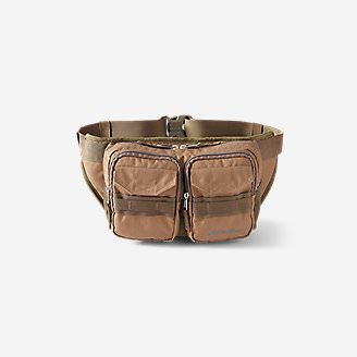Cargo Sling Bag in Brown