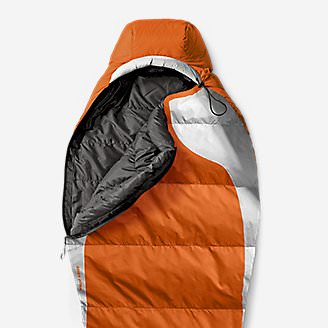 Snowline 20º Sleeping Bag in Orange