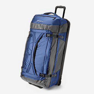 Expedition Drop Bottom Rolling Duffel - Extra Large in Blue