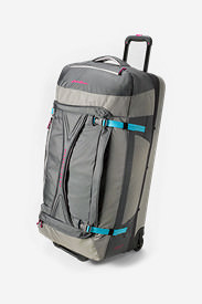 Expedition Drop Bottom Rolling Duffel - Extra Large in Gray