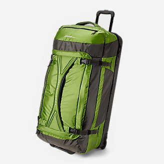 Expedition Drop Bottom Rolling Duffel - Extra Large in Green