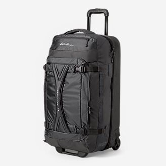 Expedition Drop-Bottom Rolling Duffel - Large in Black