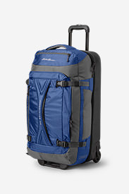 Expedition Drop-Bottom Rolling Duffel - Large in Blue